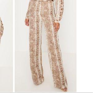 PLT snake print pants. Worn once